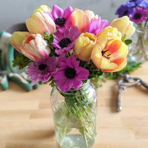 Mixed Bouquet with Vase